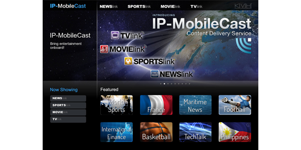 IP-MobileCast Interface