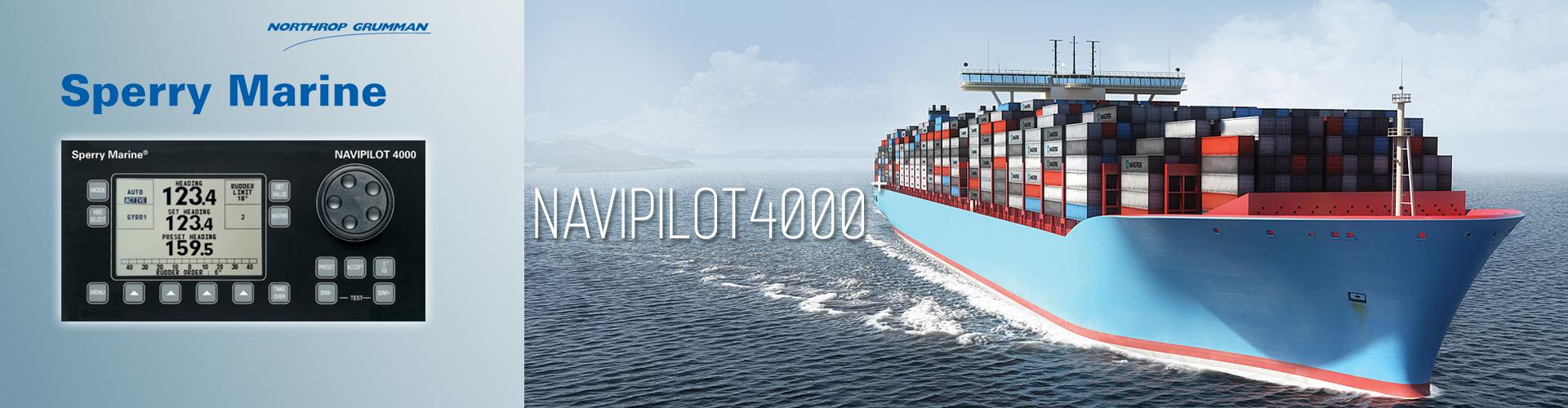 Sperry Marine NAVIPILOT 4000