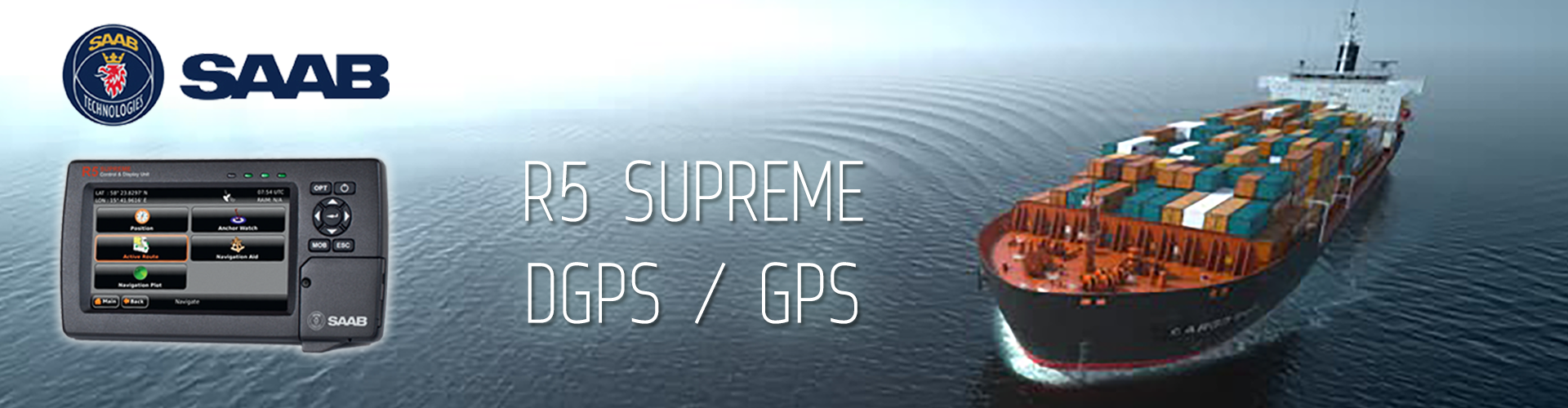 SAAB R5 SUPREME GPS / DGPS