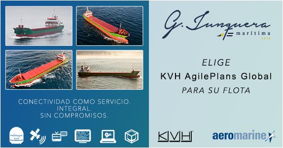 G. Junquera Marítima, S.L. elige a Aeromarine como proveedor SATCOM
