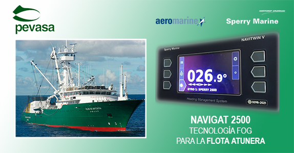 Gyrocompasses with FOG technology a success with the tuna-fishing fleet